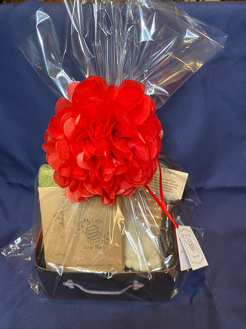 Red Father's Day Gift Box