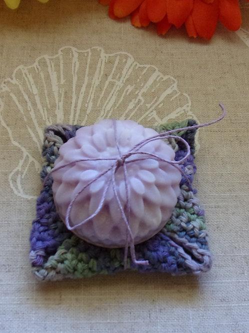 Kitchen Dish Soap & Cotton Crochet Dish Cloth