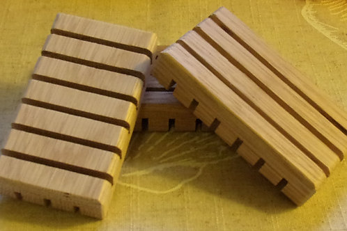 Handmade USA Little Wooden Soap Dishes