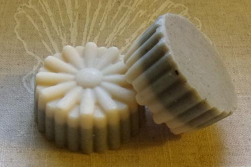 Unscented Daisy Facial Soap Bar