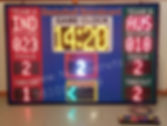 LEDBasketball scoreboard Manufactured in New Delhi, India. Electronic Basketball scoreboard, LED scoreboard Delhi India