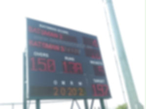 LED Cricket scoreboards New Delhi. LED Scoreboards. Scoreboards.