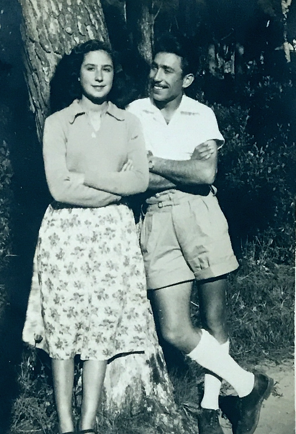 Marie and Isidore Touboul