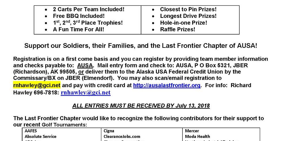 2018 AUSA Golf Tournament