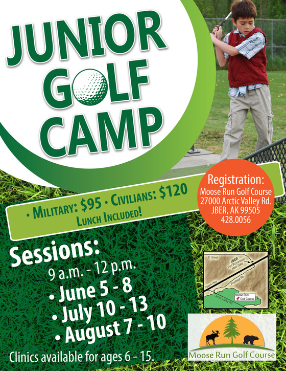 Junior Camps Now Available for Online Signup