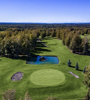 Moose Run, Hill Course, Hole 4