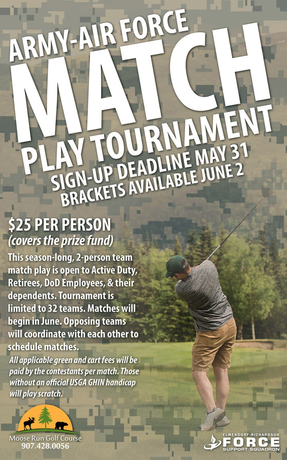 Army - Air Force Match Play Tournament