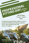 Callaway Professional Fitting Day!