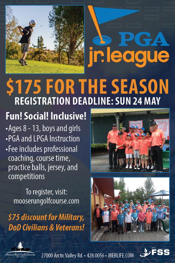 PGA Jr. League Registration