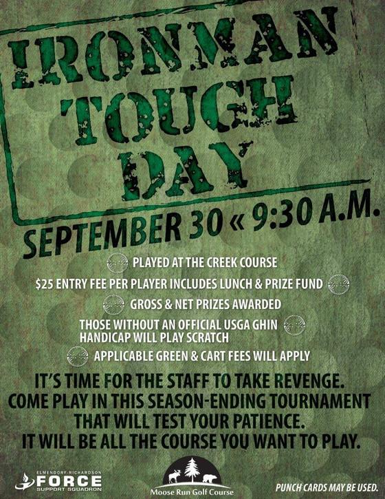 Ironman Tough Day Tournament