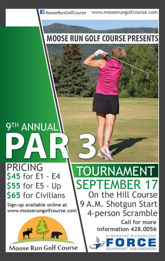 Par 3 Tournament - Huge Success