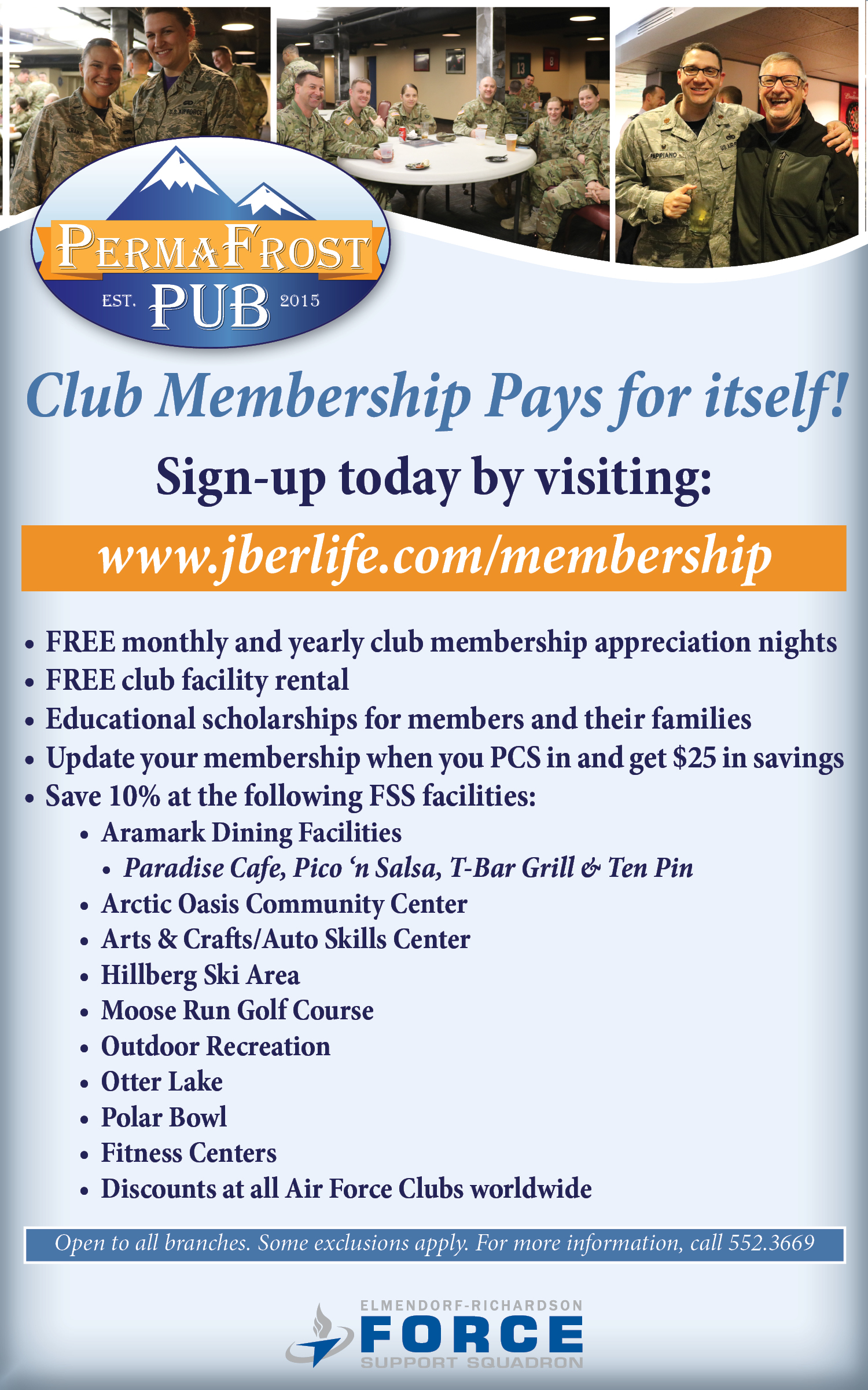 2018 Club Membership