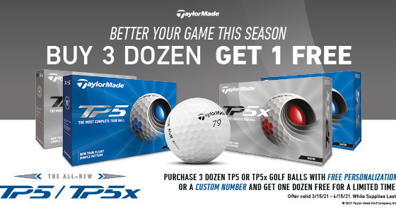 TaylorMade Golf Ball Sale!!