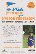 Last Week for PGA Jr. League Registration!