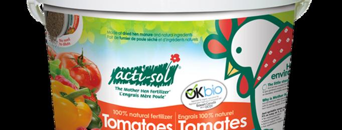 Fumier de poule tomates et légumes 4-6-8