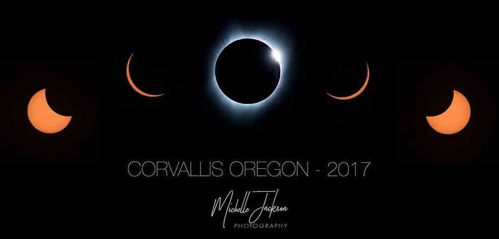 Solar Eclipse Compilation Corvallis