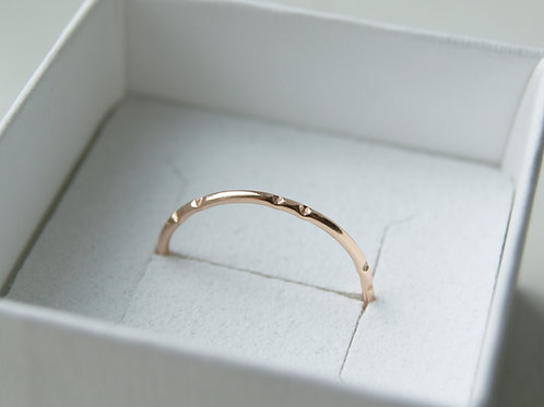 9ct Rose Gold Perfect Stacker Ring