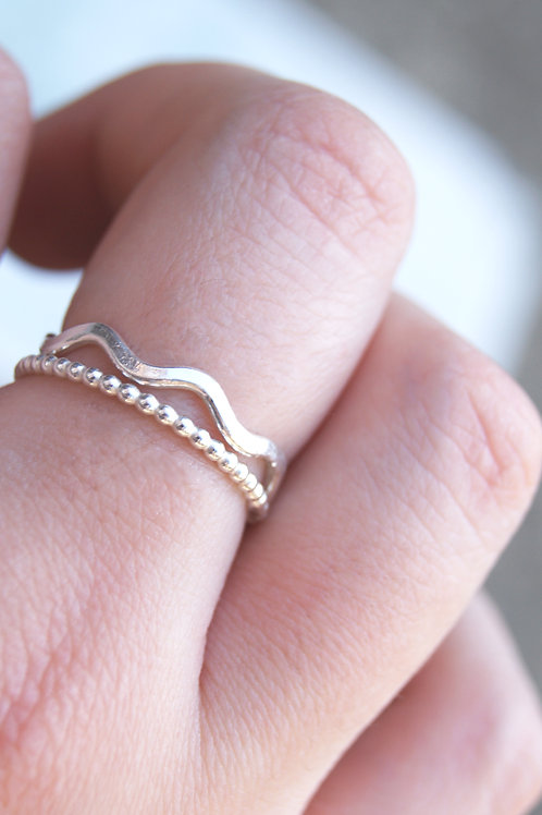Silver Wiggle Ring