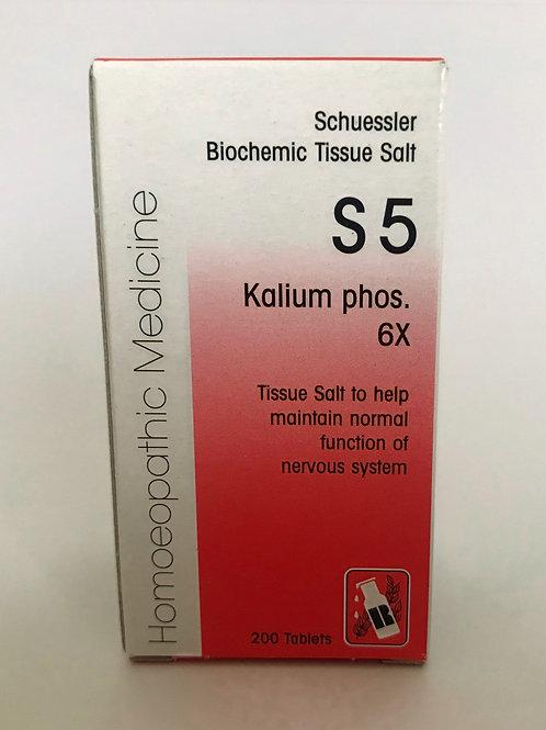 S5 Kallium phos. 6X