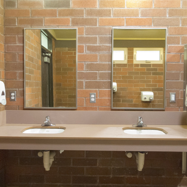 JANITORIAL BATHROOM CLEANING