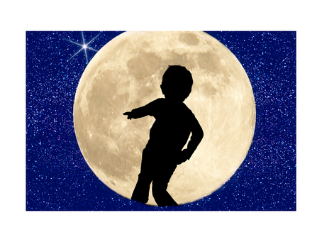 Full Moon! My son mooned his kindergarten class; we're laughing about it now
