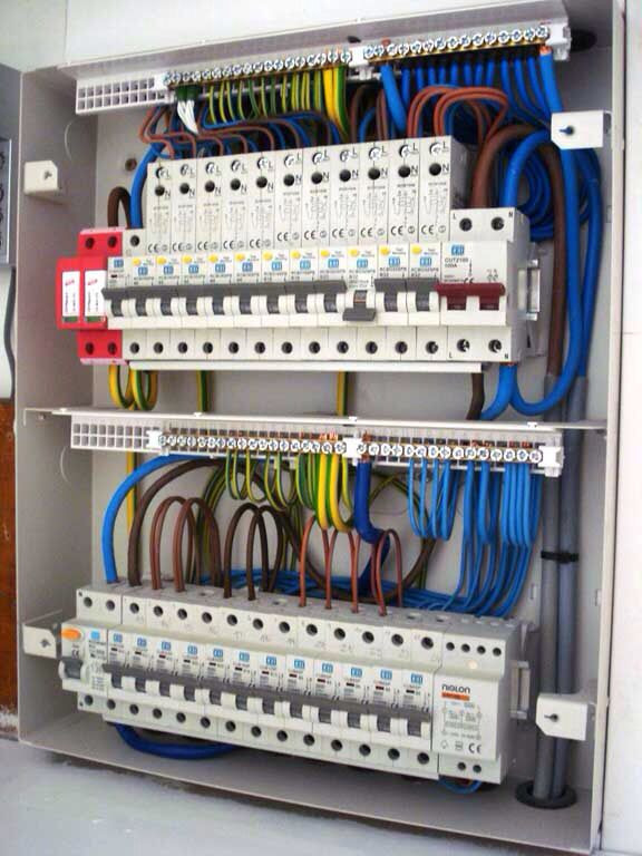 Electrical Inspection of a Electrical Service Panel