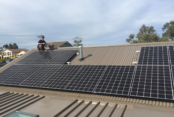 LG Solar Panels Installation