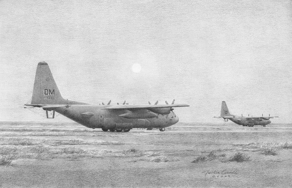EC-130H - Operation Iraqi Freedom