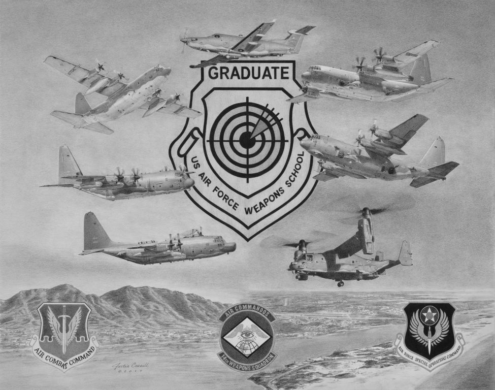14th Weapons Squadron Litho