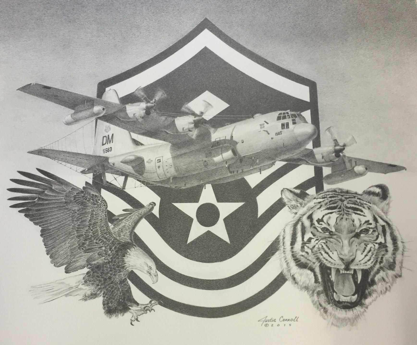 42 ECS-755 OSS 1st Sergeant Farewell