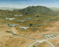 USAF Weapons School Litho