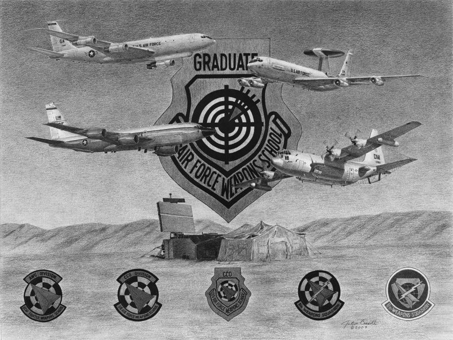 8th Weapons Squadron Litho