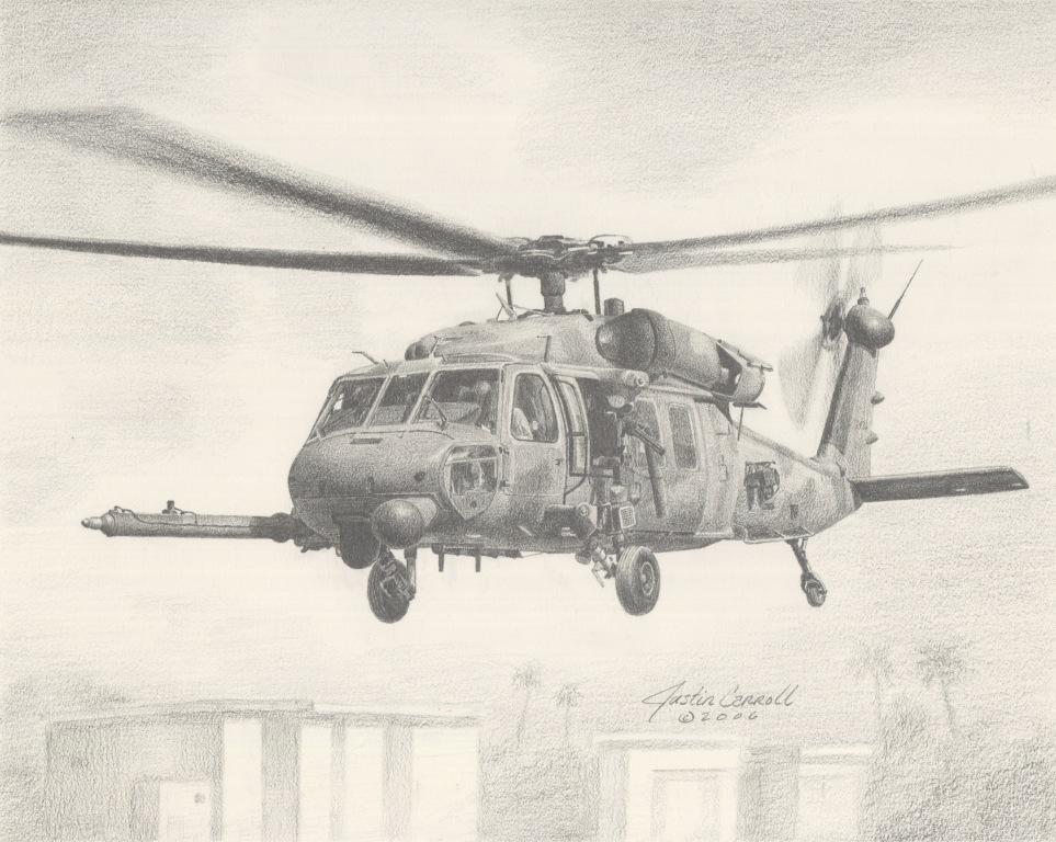 HH-60G in Baghdad
