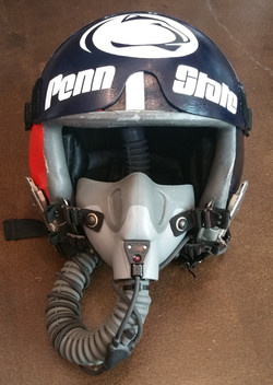 Flight Helmet Front