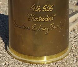 105mm Inscription