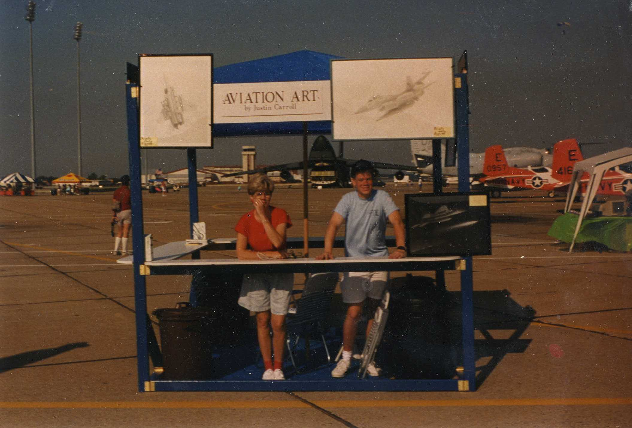Langley AFB Airshow Booth