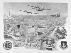 Air Force Fellows Lithograph