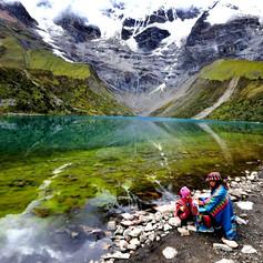 Lake InHumantay @ Cusco, Peru