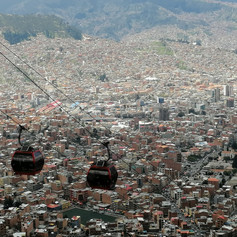 Hightest Cable car in the world @ La Paz,Bolivia