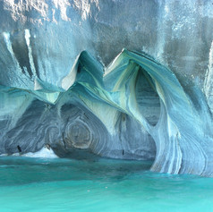 Marble Cave @ Chilean Patagonia