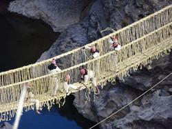 Queswachaka, Inka Bridge