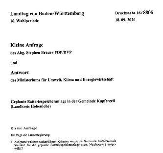 20200918-FDP-Brauer-AnfrageAntwortMinist