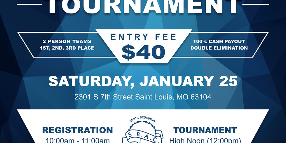 3rd Annual SBAC Washer Tournament