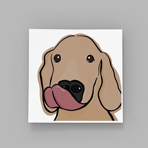 Dog Kisses - Golden Retriever