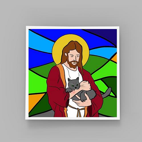 Purr-aise Jesus!
