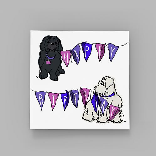 Birthday Bunting - Duo