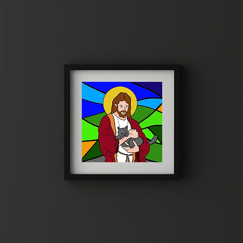 Purr-raise Jesus!