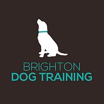 Brighton Dog Training_final logo-White-B