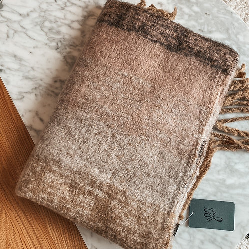 Brown sjaal