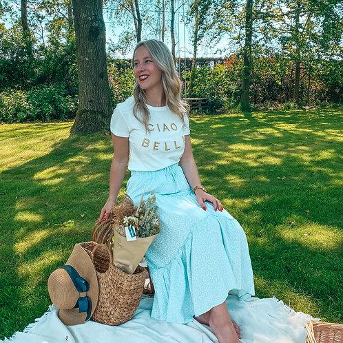 Picknick blue skirt